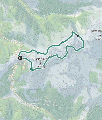 Cartina / Lago delle Buse