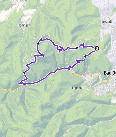 Karte / Sonntagsrunde ab Weilach