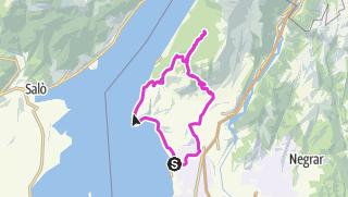 Karte / Prada von Bardolino aus
