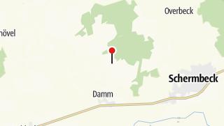 Karte / Waldlehrpfad Weseler Wald