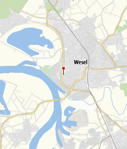 Karte / Radeln entlang des Wassers - Auf der 3-Flüsse-Route zwischen Lippe, Issel und Niederrhein