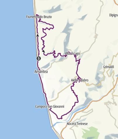 Cartina / Riviera Gran Tour