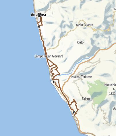 Cartina / Amantea - Falerna XC