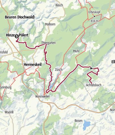 Map / Hike Gruppecamp 2018