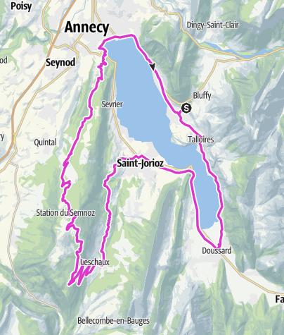 Karte / Annecy