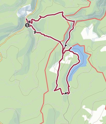Karte / Vom Radauwasserfall zur Eckertalsperre.