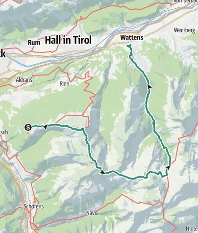 Map / 7tuXer summits 2018