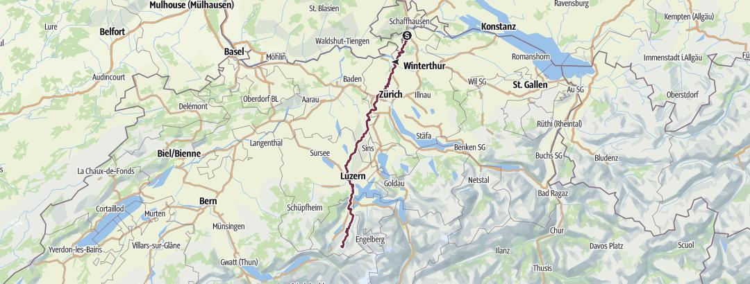 Map / Sommerwanderung 2018