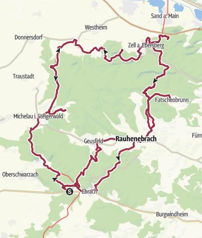 Karte / Die große Nordtour