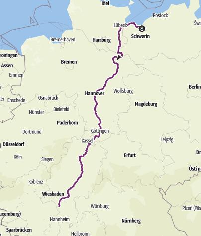 Mapa / Wismar Wallerstädten