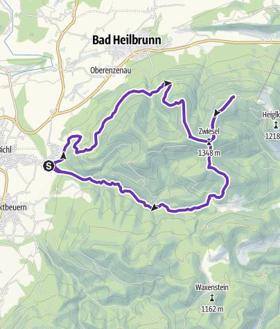 Karte / Bichl-StallauerEck-Blomberg