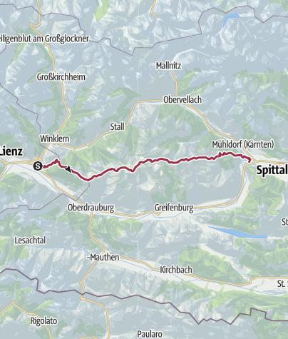 מפה / Kreuzeckgruppe