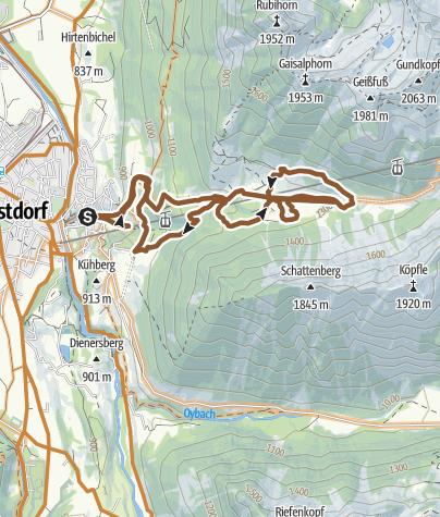 Karte / Auf der Seelpe ist man Abends alleine, Grillplatz mit Holzvorrat bis 17