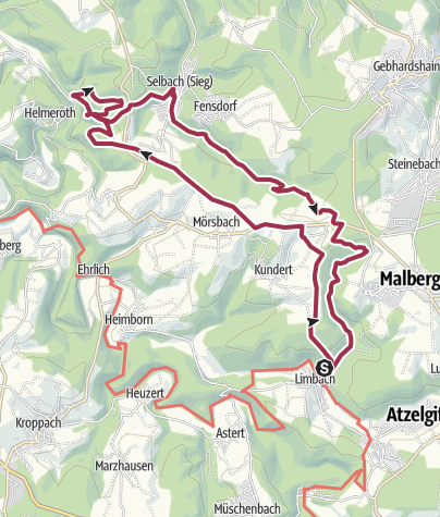 Map / LIMBACHER RUNDE 40: Schöne Aussicht Brunken
