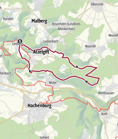 Map / LIMBACHER RUNDE 41: Naturwaldreservat Nauberg