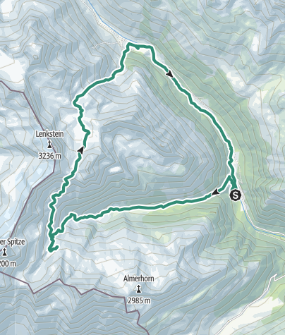 Map / Tourenplanung am 10. August 2018