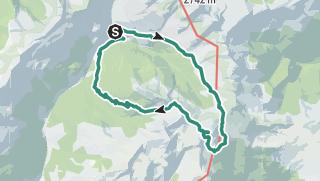 Mapa / Lago Valdurna/Durnholzer See - Cima S. Cassiano/Kassianspitz