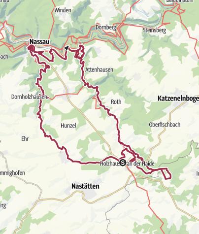 Karte / Schinder-Trail Winterparadies 2019