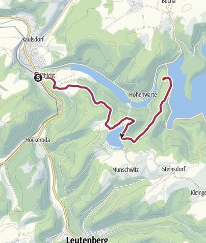 Map / Kaulsdorf Dam and Cruise