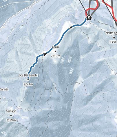 Cartina / Dos dei Branchi