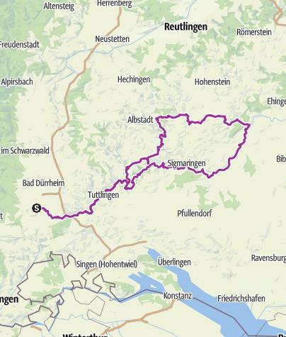 Map / Schwarzwald-Donau-Heuberg