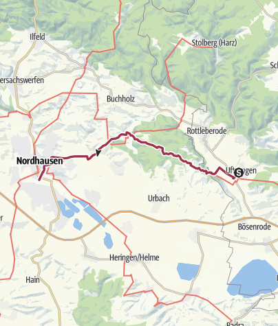 Nordhausen Karte.Thyratal Nordhausen Wanderung Outdooractive Com