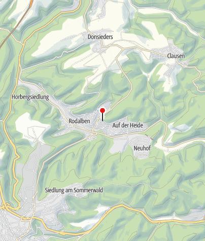 Karte / PWV-Hilschberghaus