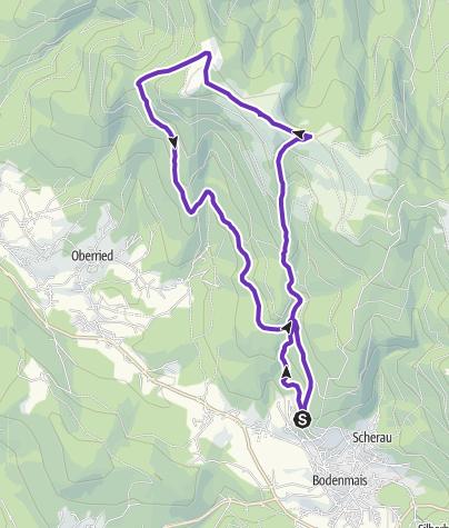Karte / Hochfall-Enzian-Schareben