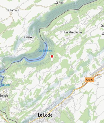 Map / L'Escarpineau Viewpoint