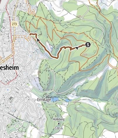 Karte / Arlesheim Bike Trail Trailnet.ch