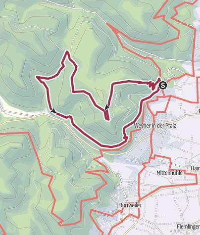 Karte / Unterwegs in König Ludwigs Reich
