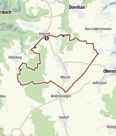 Karte / Radsaisonabschluss 2018- Genießertour Alpirsbach