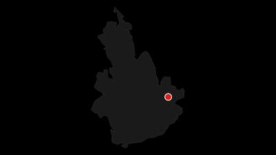 Karte / Von Bischofswiesen zur Kälbersteinsprungschanze