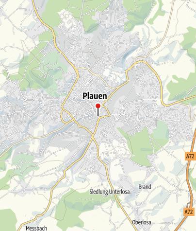 Karte / Alte Elsterbrücke Plauen