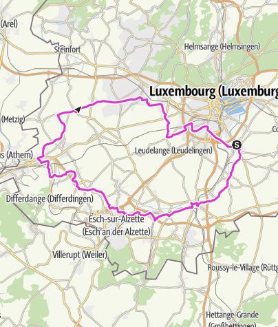Karte / Rallye UC  Peiteng