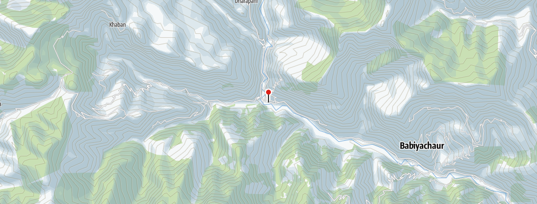 Map / Dhaulagiri Umrundung