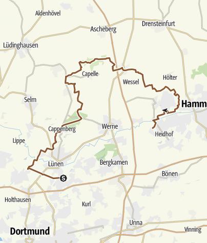 Karte / Great-Gravel/ 2. Etappe 64km