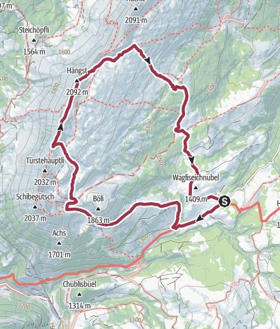 Map / Schrattenfluh Rundtour von Salwideli