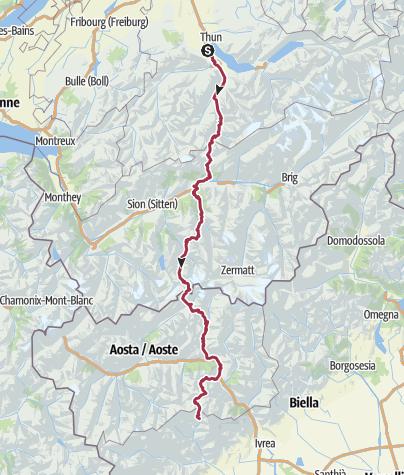 Mappa / Tour Peronino