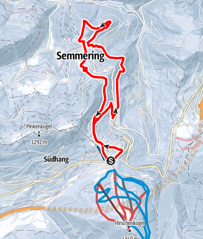 Térkép / Semmering – varázslatos látvány - körút