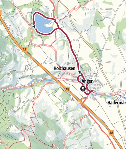 Map / Rundwanderung Anger-Höglwörth