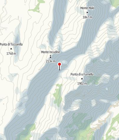 Karte / Asinouhütte 1536m
