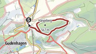 Karte / Waldfeenpfad Brilon