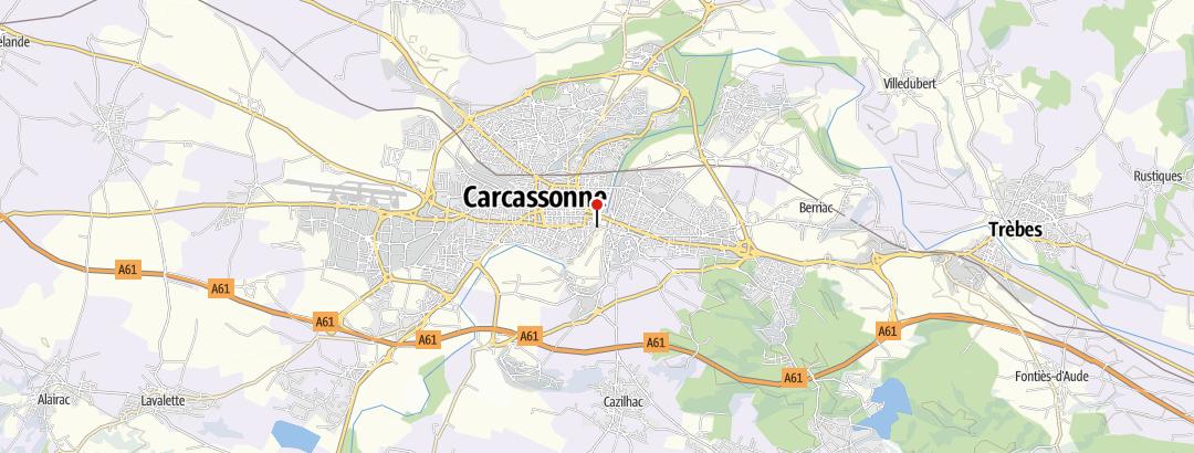 Karte / Radrundreise Toskana(Florenz)