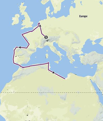 מפה / Chlini Wältreis
