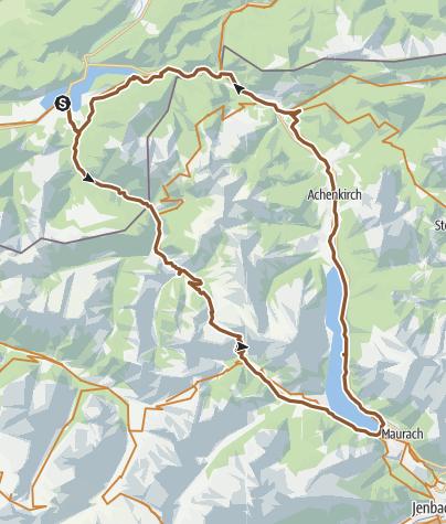 Map / Fall- Achensee