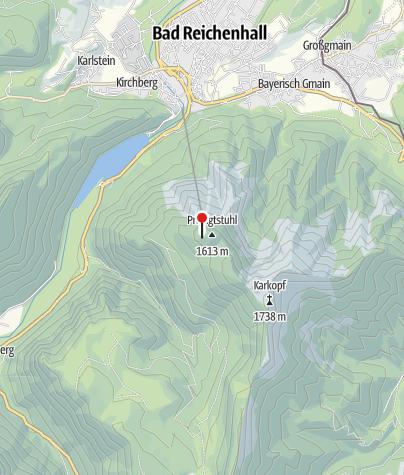 Karte / Teisendorfer Hütte
