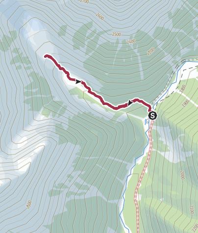 Map / Chalaadi Glacier and ice cave round trip