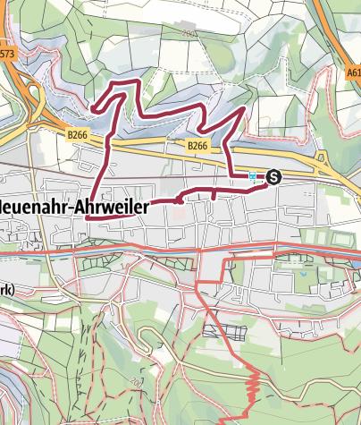 Karte / Vom Bahnhof Bad Neuenahr zur Hemmessener Hütte