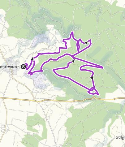 Map / PBL_HM-zzgl-Turm-Baumwipfelpfad-Steigerwald =  21,1km